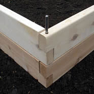 Build a raised bed garden anywhere